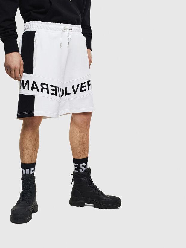 P-SHAM, Blanc/Noir - Shorts