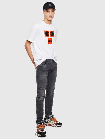 Diesel - T-JUST-T23, Blanc - T-Shirts - Image 2