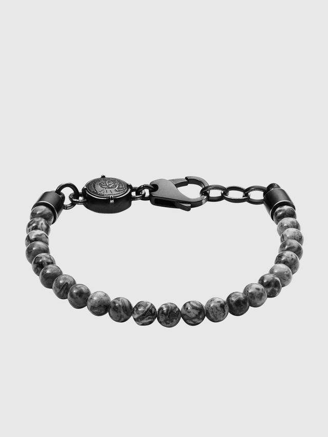 Diesel - BRACELET  DX1015, Gris foncé - Bracelets - Image 1