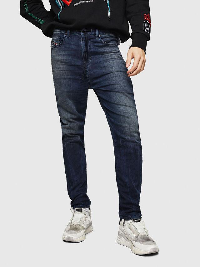Diesel - D-Vider JoggJeans 069HV, Bleu moyen - Jeans - Image 1