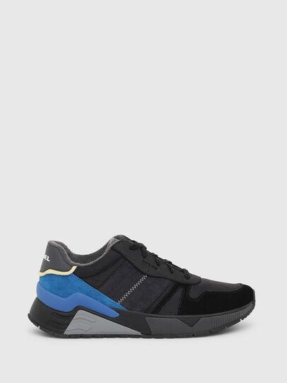 Diesel - S-BRENTHA FLOW, Noir/Bleu - Baskets - Image 1