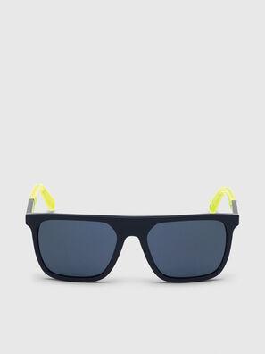 DL0299, Bleu/Jaune - Lunettes de soleil