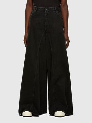 D-Spritzz 009RN, Noir/Gris foncé - Jeans