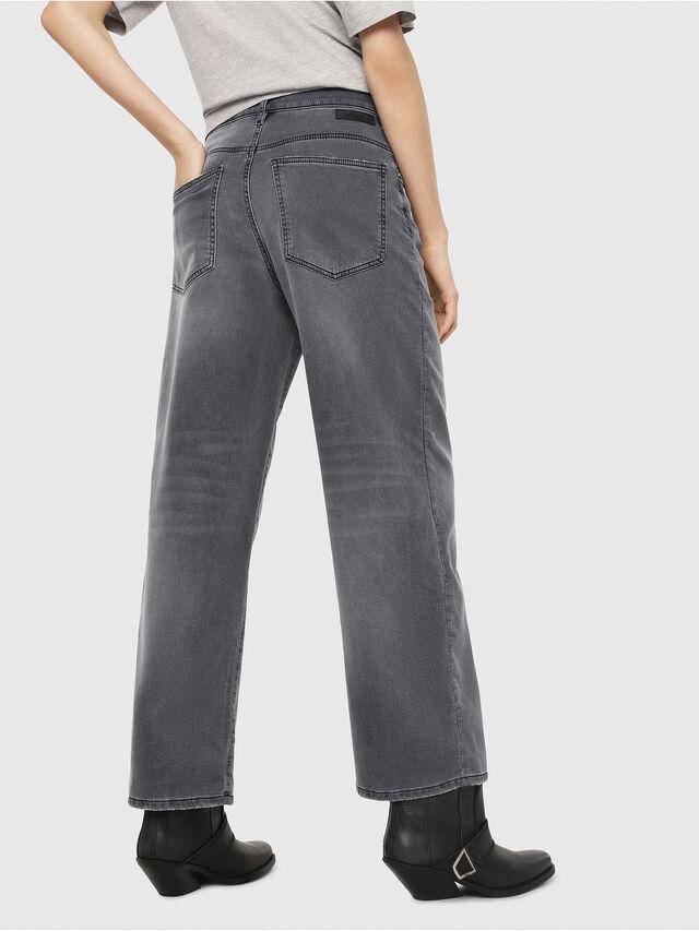Diesel - Widee JoggJeans 069EH, Noir/Gris foncé - Jeans - Image 2