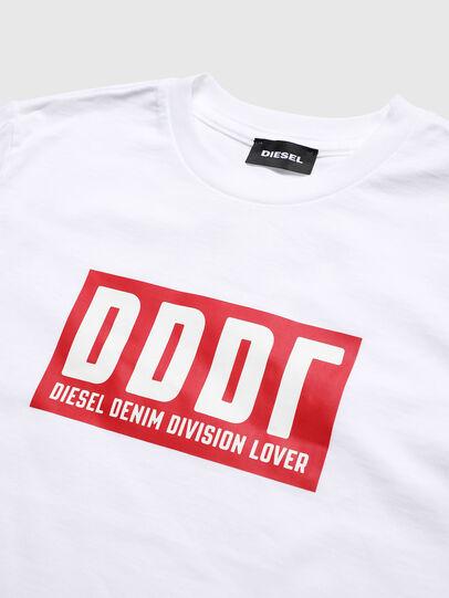 Diesel - TJUSTA9, Blanc - T-shirts et Hauts - Image 3