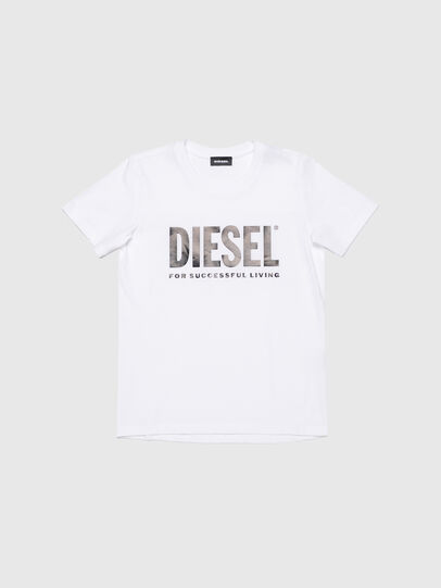 Diesel - TSILYWX, Blanc - T-shirts et Hauts - Image 1