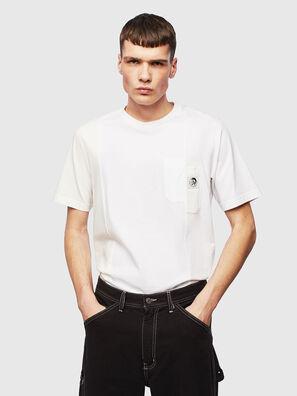 T-RISEN, Blanc - T-Shirts