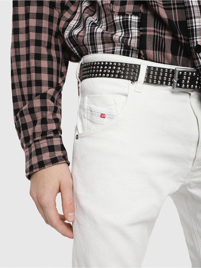 Diesel - Krooley JoggJeans 088AZ, Blanc - Jeans - Image 3