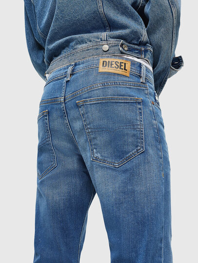 Diesel - Buster 083AX, Bleu Clair - Jeans - Image 3