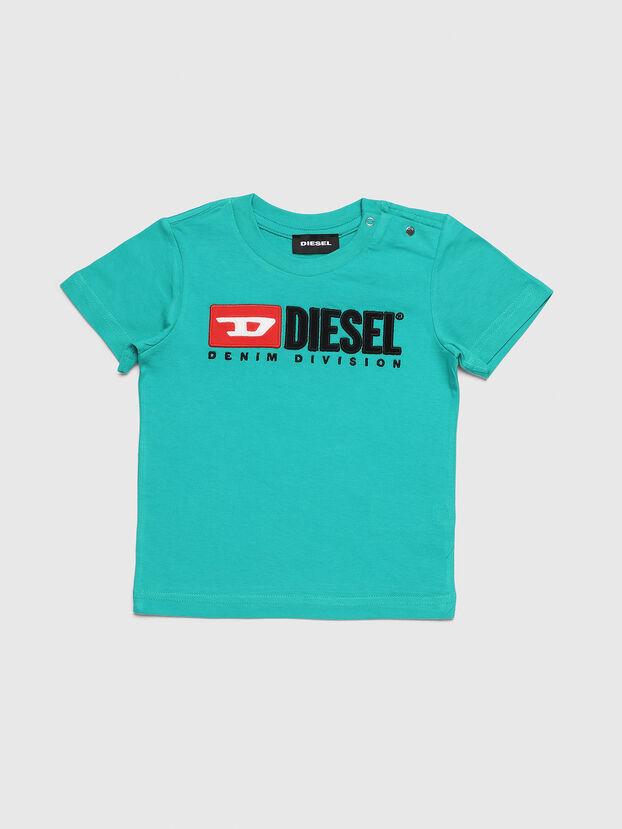 TJUSTDIVISIONB, Vert d'Eau - T-shirts et Hauts