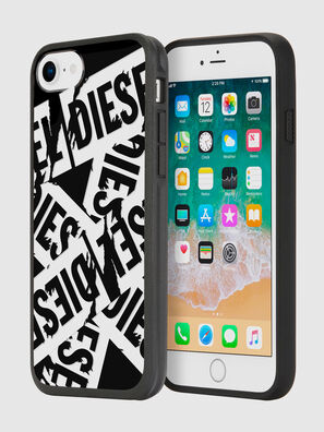 MULTI TAPE BLACK/WHITE IPHONE 8/7/6S/6 CASE, Noir - Coques