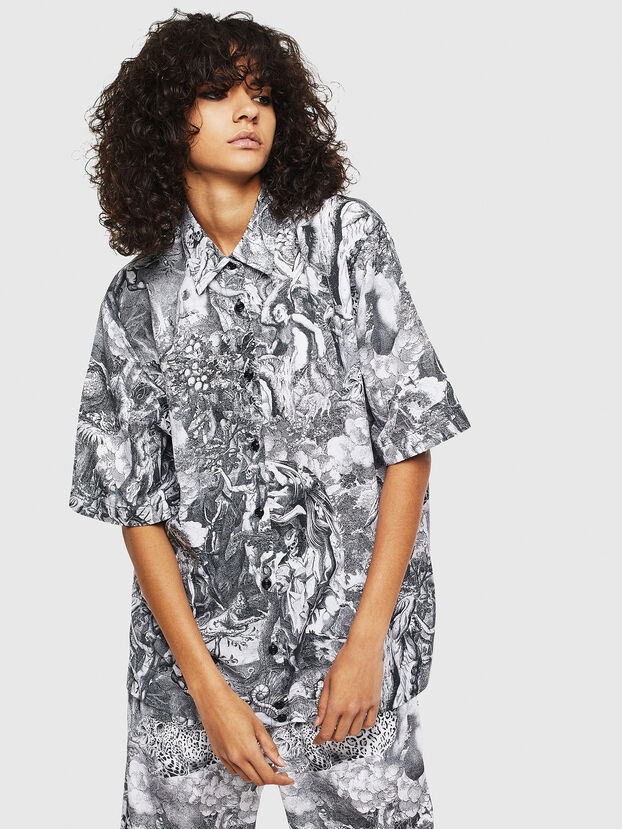 C-FRY, Noir/Blanc - Chemises