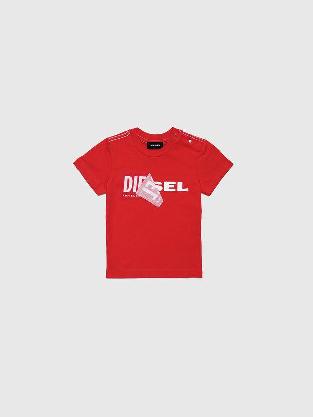 TOQUEB MC, Rouge - T-shirts et Hauts
