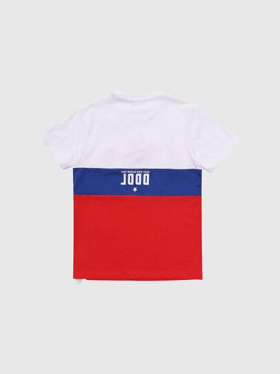 Diesel - TJUSTA1, Blanc/Rouge/Bleu - T-shirts et Hauts - Image 2