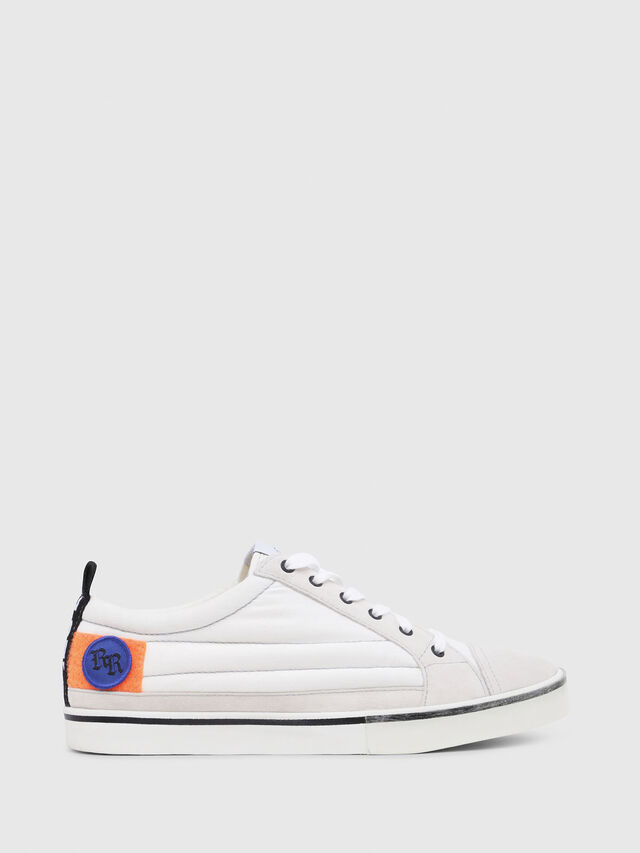 Diesel - D-VELOWS LOW PATCH, Blanc - Baskets - Image 1