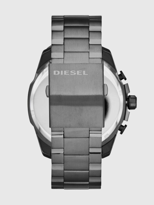 Diesel - DZ4329 MEGA CHIEF, Gris argenté - Montres - Image 3