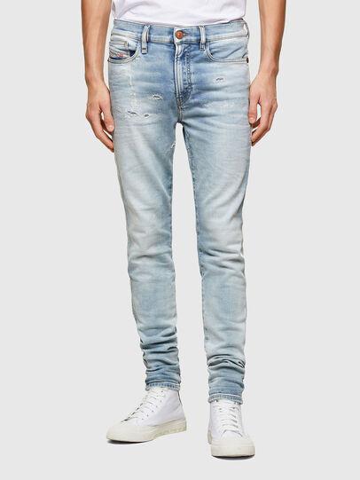 Diesel - D-Reeft JoggJeans® 069UC, Bleu Clair - Jeans - Image 1