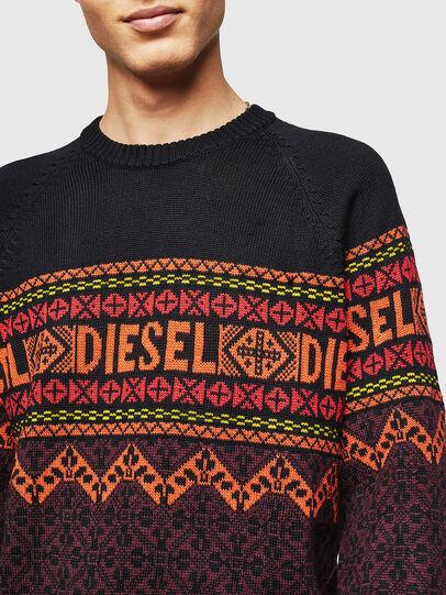 Diesel - K-CV-ALLJAC, Polychrome/Noir - Pull Maille - Image 3