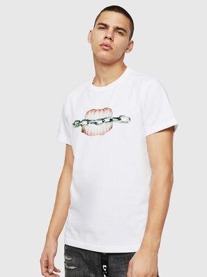 T-DIEGO-B10, Blanc - T-Shirts