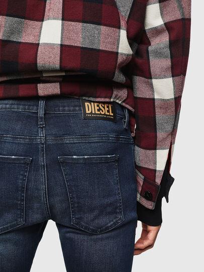 Diesel - D-Istort 0870C, Bleu Foncé - Jeans - Image 4