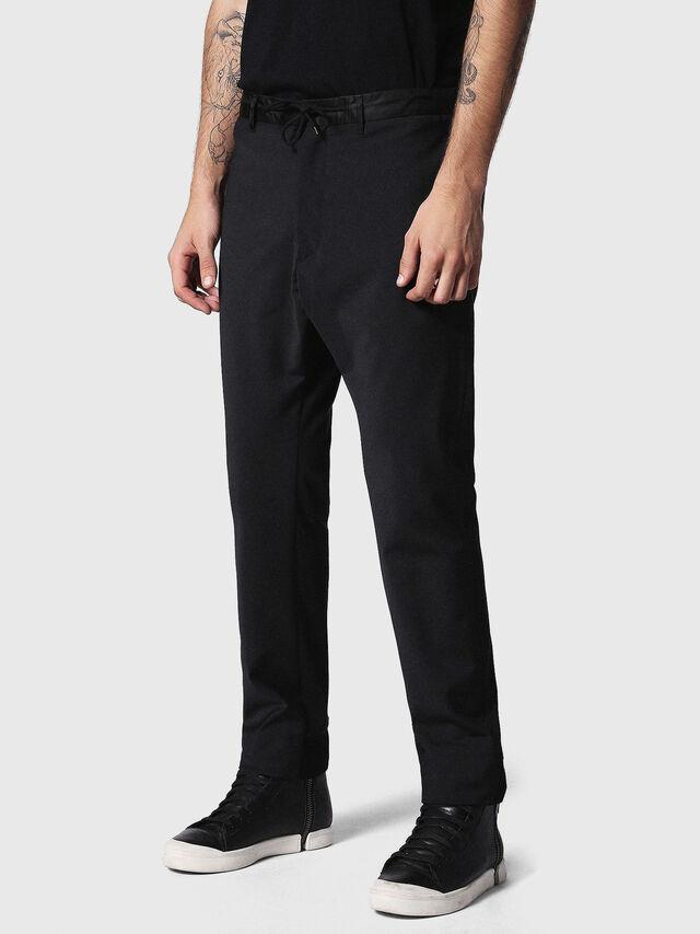 Diesel - P-HONNYER, Noir - Pantalons - Image 1