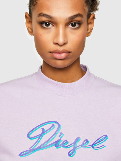 Diesel - F-ANG-K15, Lilas - Pull Cotton - Image 3