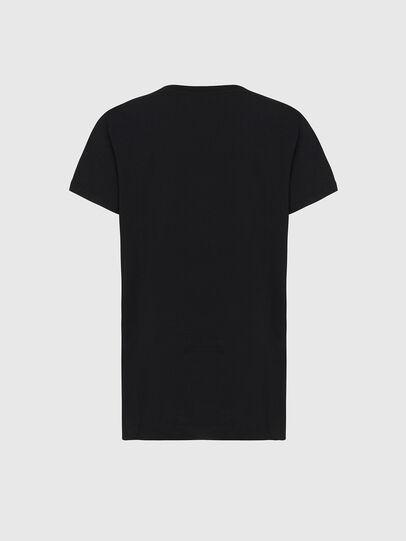 Diesel - T-DARIA-E31, Noir - T-Shirts - Image 2