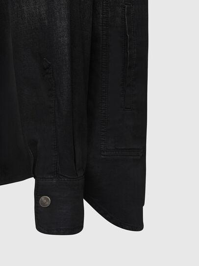 Diesel - D-NESKY, Noir - Chemises en Denim - Image 4