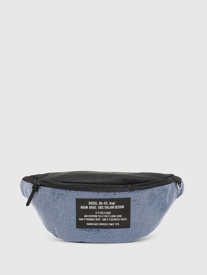 Diesel - D-THISBAG BELT, Bleu/Noir - Sacs ceinture - Image 1