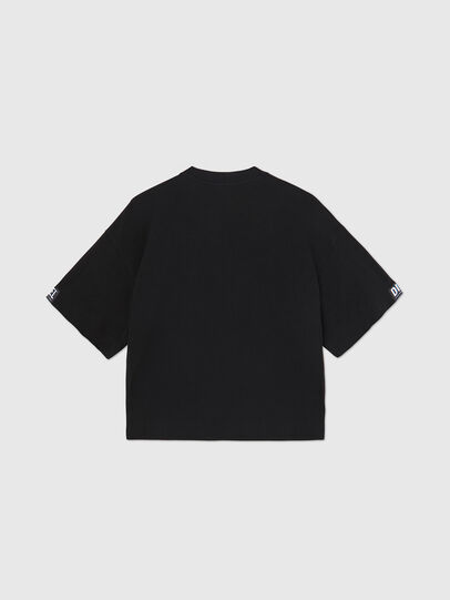 Diesel - UFTEE-SHORTEE, Noir - T-Shirts - Image 2