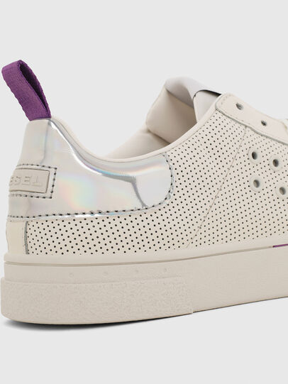 Diesel - S-CLEVER LC W, Blanc/Rose - Baskets - Image 4