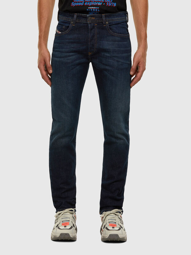Buster 009HN, Bleu Foncé - Jeans