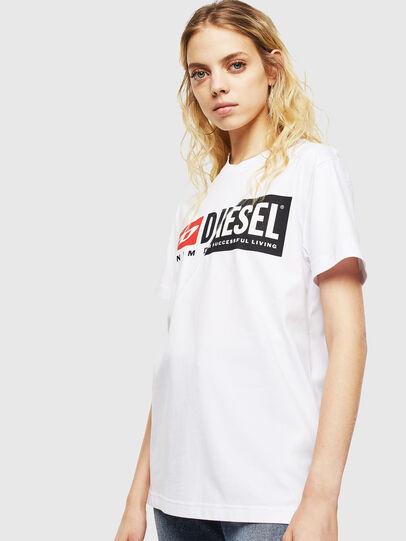 Diesel - T-DIEGO-CUTY, Blanc - T-Shirts - Image 2