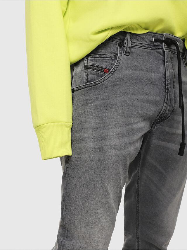 Diesel - Krooley JoggJeans 069EH, Noir/Gris foncé - Jeans - Image 3