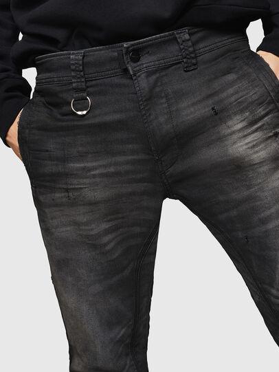 Diesel - D-Earby JoggJeans 069GN, Noir/Gris foncé - Jeans - Image 3