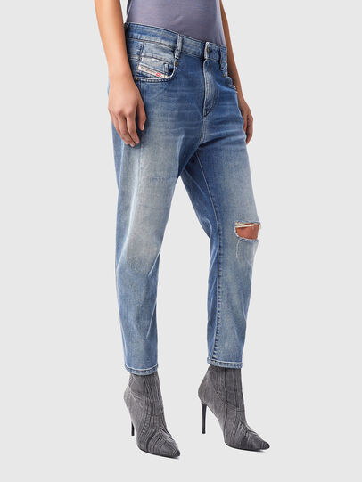 Diesel - Fayza 09B16, Bleu Clair - Jeans - Image 6
