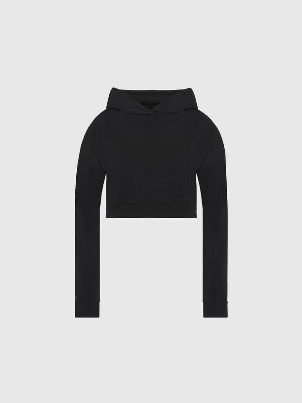 UFLT-ANGHEL, Noir - Pull Cotton