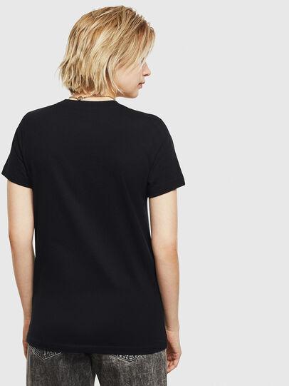 Diesel - T-SILY-S7, Noir - T-Shirts - Image 2