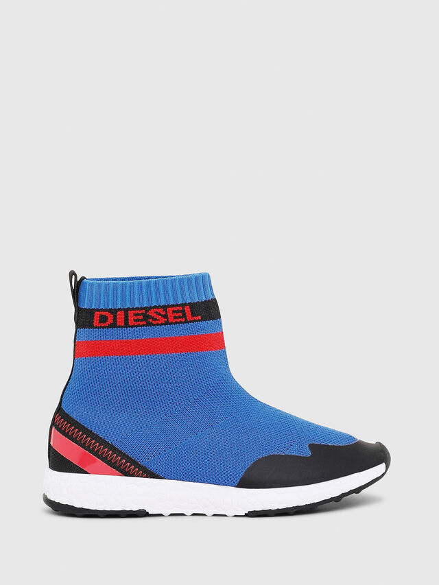 Diesel - SLIP ON 03 S-K SOCK, Bleu - Footwear - Image 1