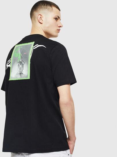 Diesel - T-JUST-T11, Noir - T-Shirts - Image 2
