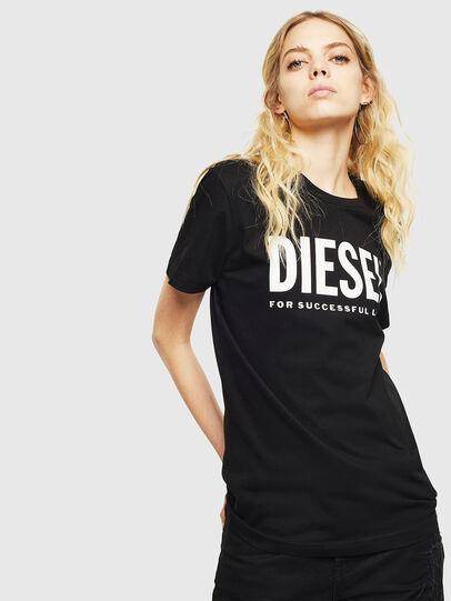 Diesel - T-DIEGO-LOGO, Noir - T-Shirts - Image 2