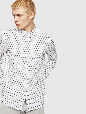 S-VEN-SKULL, Blanc - Chemises