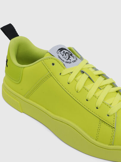 Diesel - S-CLEVER LOW LACE W, Jaune Fluo - Baskets - Image 4