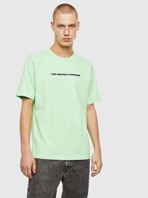 T-JUST-NEON, Vert Fluo - T-Shirts