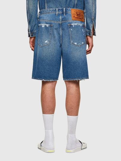 Diesel - D-WILLOH-X, Bleu Clair - Shorts - Image 2