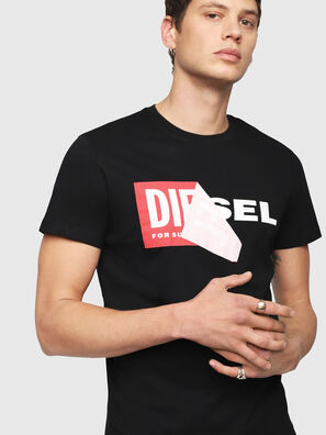 T-DIEGO-QA, Noir - T-Shirts