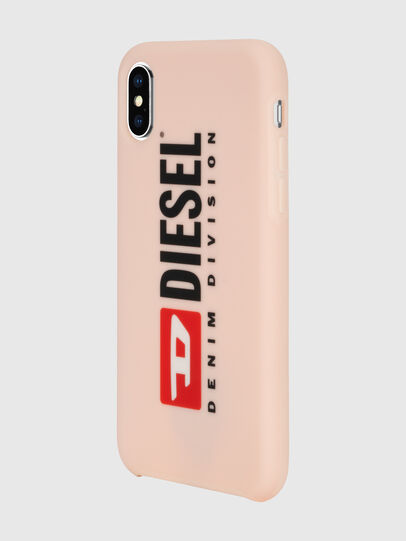 Diesel - DIESEL PRINTED CO-MOLD CASE FOR IPHONE XS & IPHONE X, Rose Poudré - Coques - Image 6