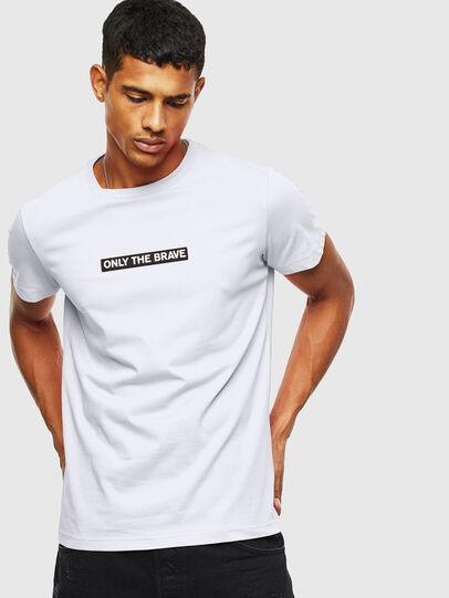 Diesel - T-DIEGO-T16, Blanc - T-Shirts - Image 1
