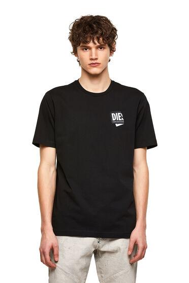 T-shirt avec empiècement logo plié