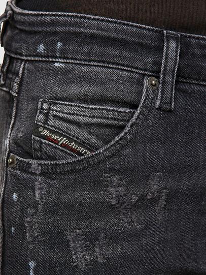 Diesel - Babhila 009JN, Noir/Gris foncé - Jeans - Image 3